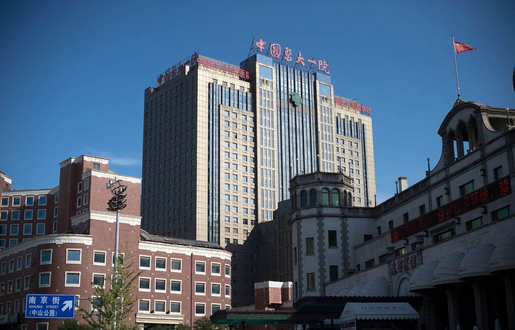 L'Hôpital universitaire médical n°1 de Shenyang, où Liu est traité, avait indiqué samedi qu'il serait «dangereux» pour lui d'être transféré.