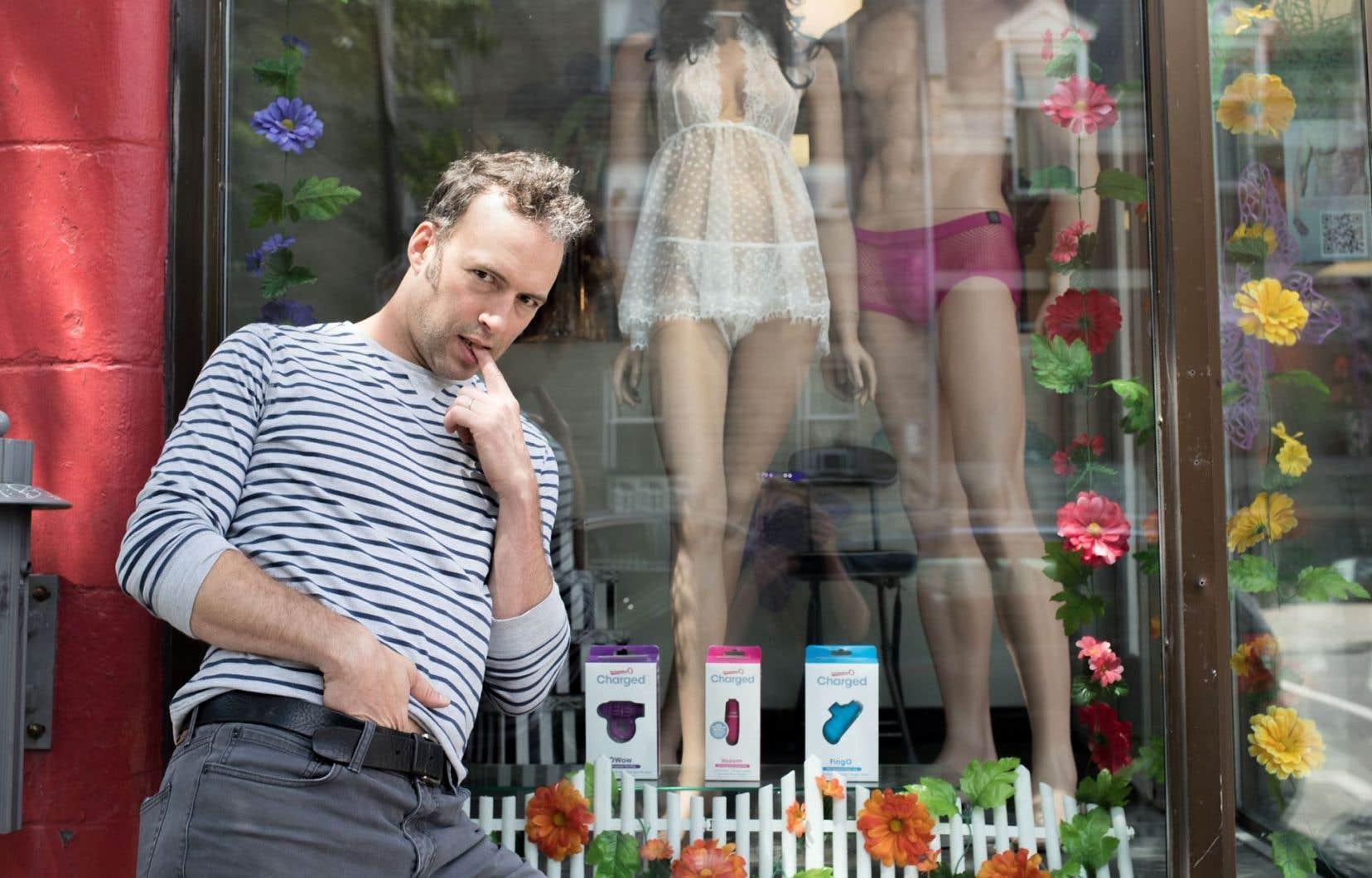 Mathieu Quesnel animera le Cabaret érotique du Zoofest les 11, 12, 19 et 20 juillet.