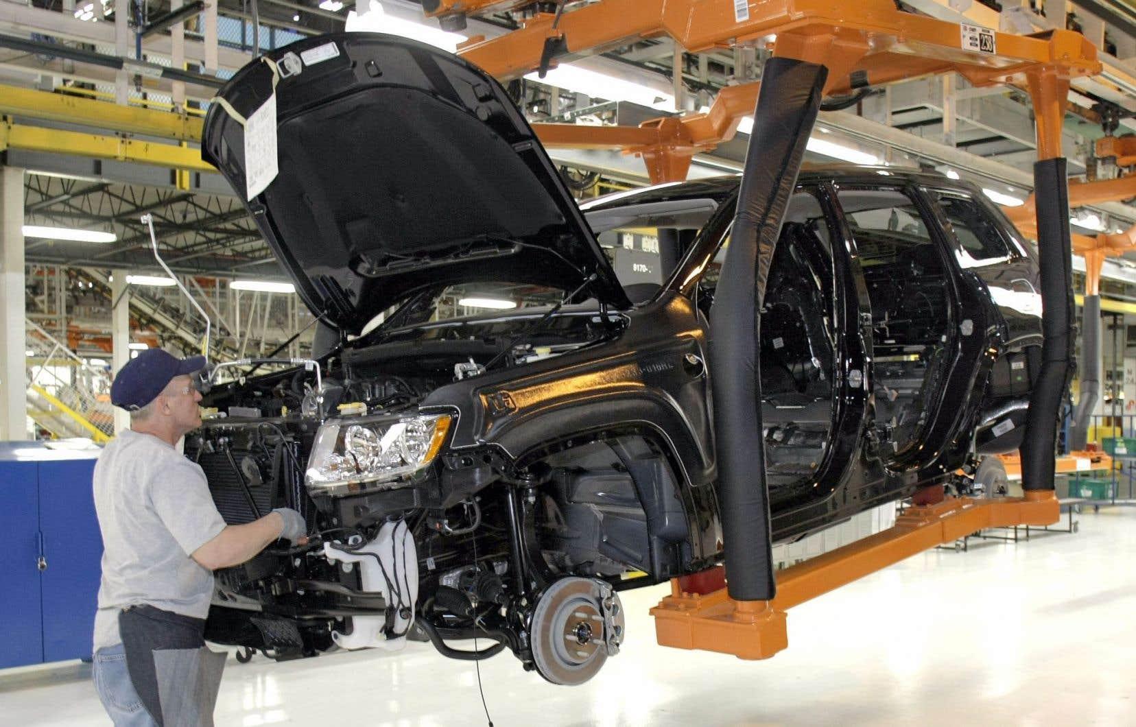 La Jeep Grand Cherokee de Chrysler fait partie des modèles du constructeur équipées d'un logiciel minimisant le niveau réel des émissions de gaz nocifs lors des contrôles.
