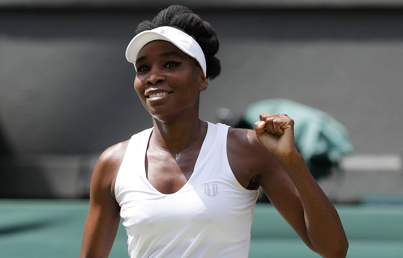 La quintuple championne de Wimbledon, Venus Williams
