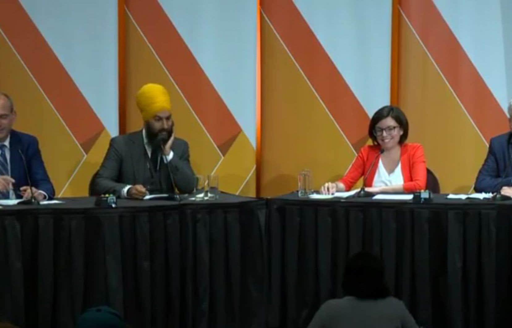 Le cinquième débat se déroulait mardi à Saskatoon, en Saskachewan.