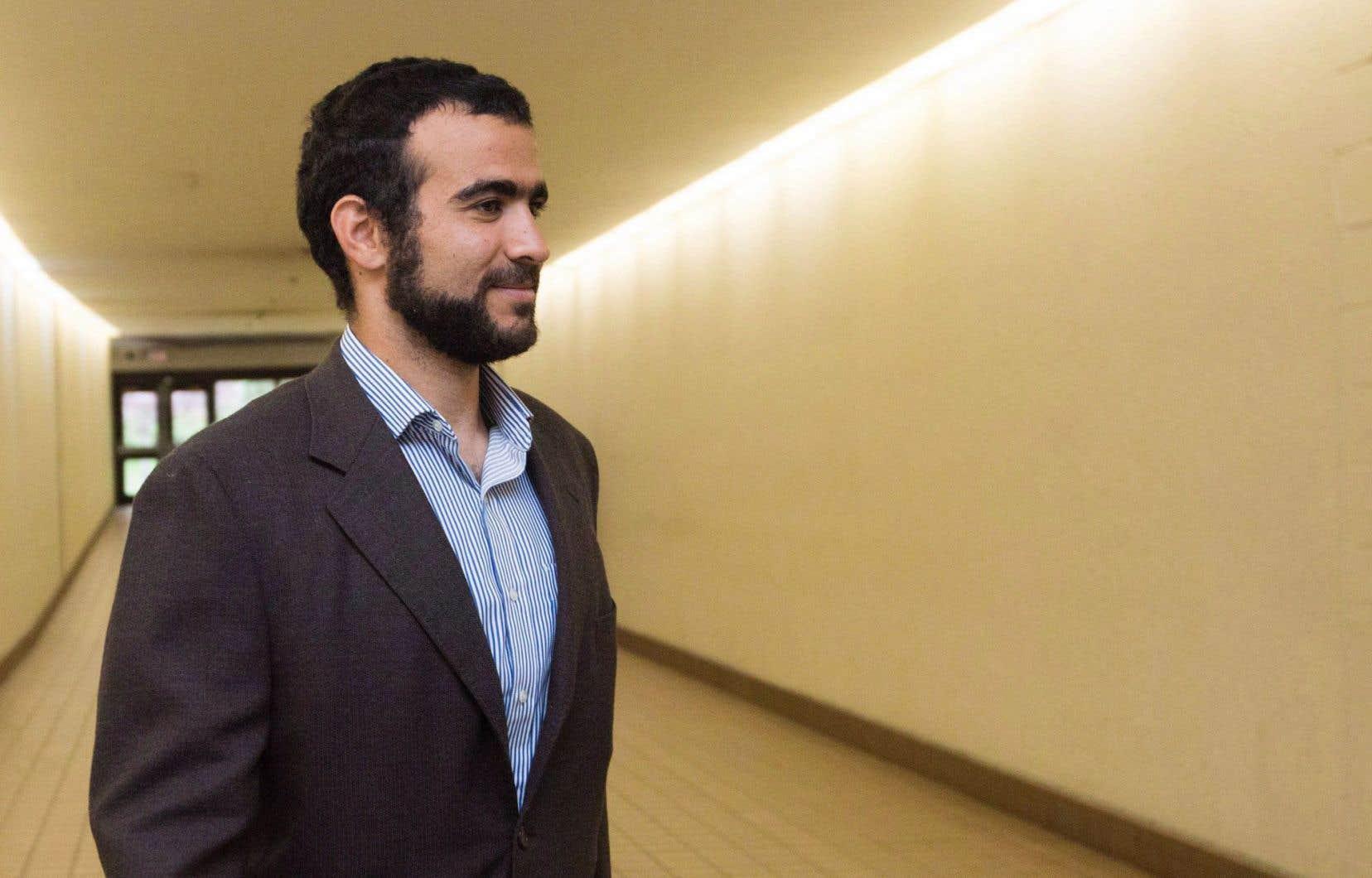L'ancien enfant-soldat Omar Khadr
