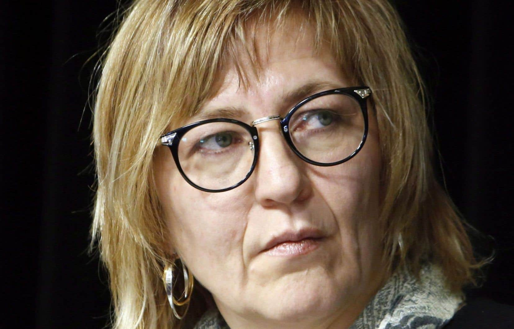 L'ex-commissaire Marilyn Poitras