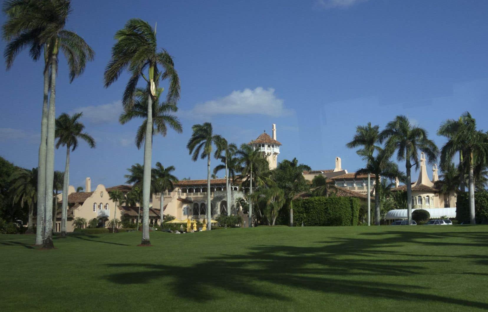 Depuis son investiture, Donald Trump a visité à sept reprises sa luxueuse propriété de Palm Beach.