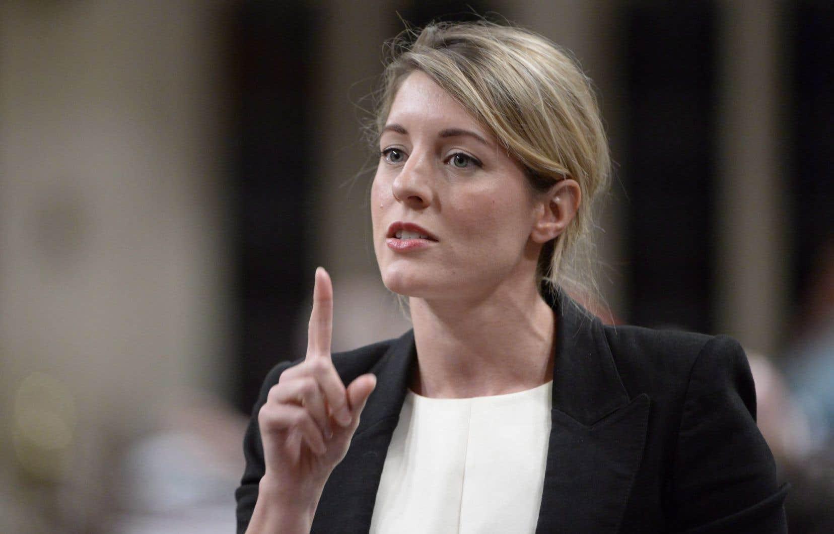 La ministre du Patrimoine, Mélanie Joly