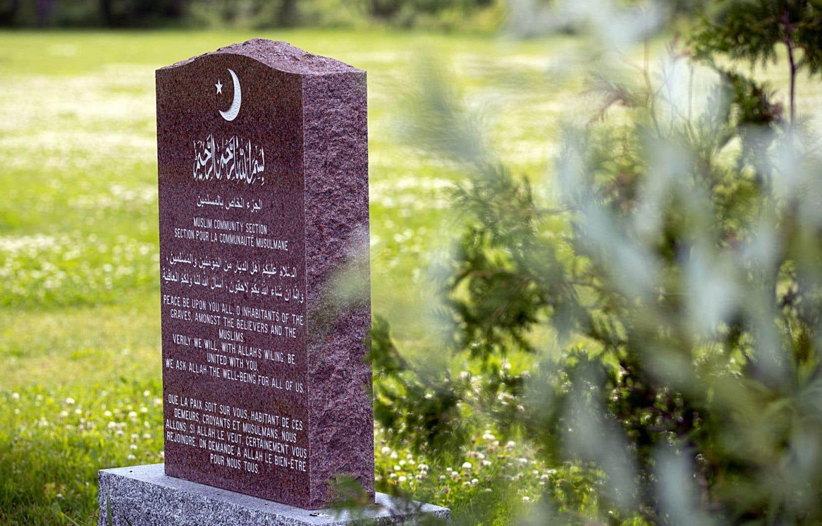 Un référendum au résultat serré a bloqué la voie dimanche à l'implantation d'un cimetière musulman dans la municipalité de Saint-Apollinaire, située à une trentaine de minutes de Québec.
