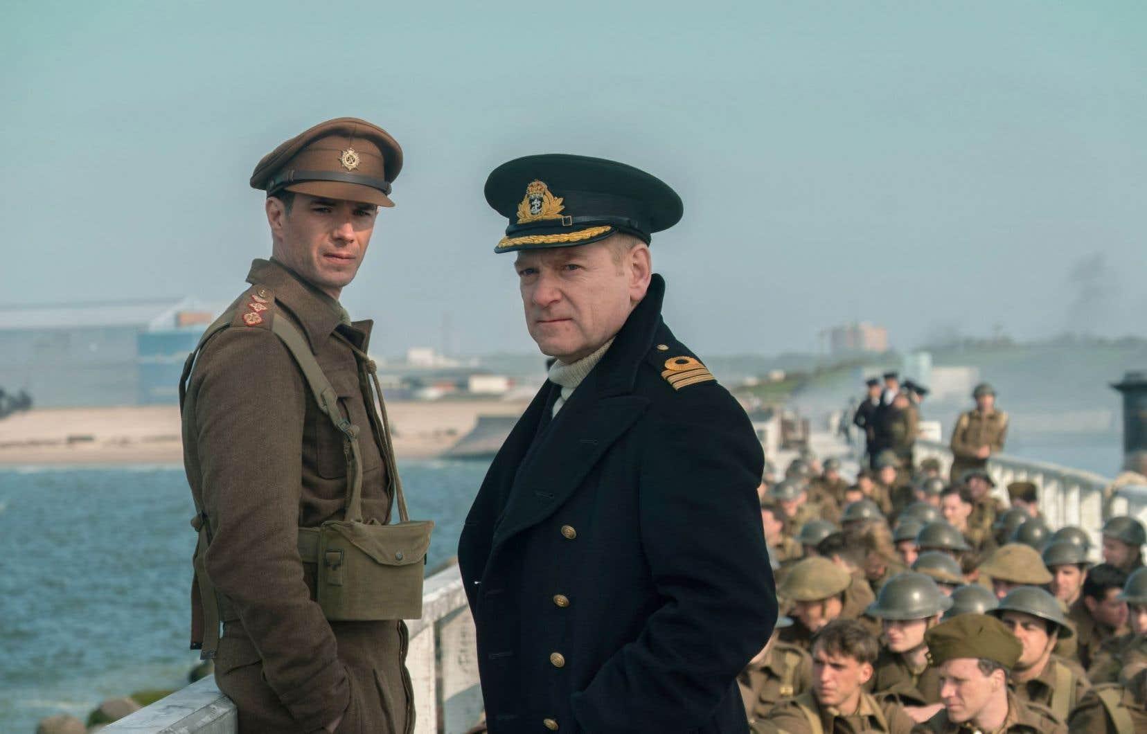James D'Arcy et Kenneth Branagh dans une scène de «Dunkerque»