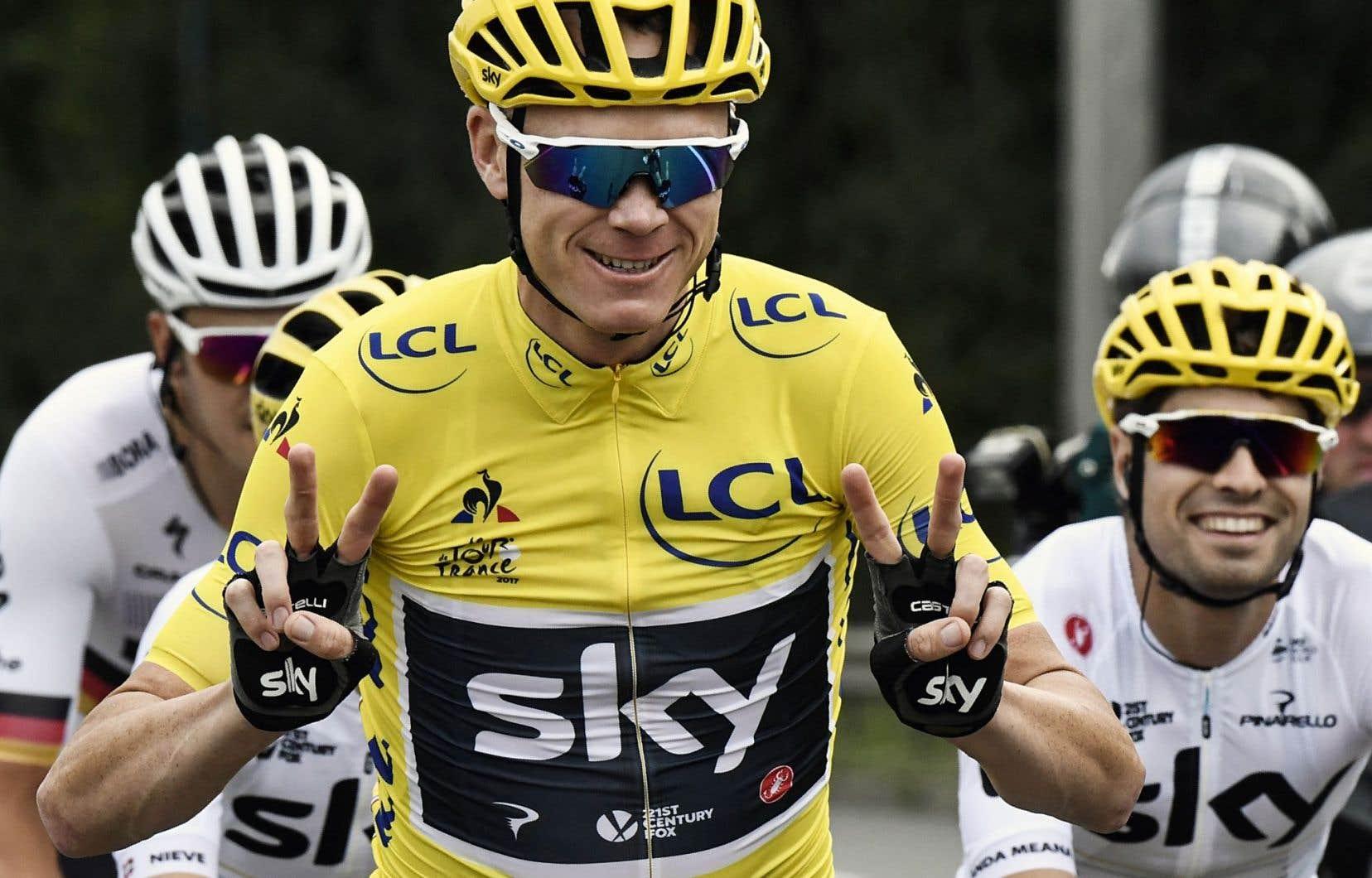 Chris Froome n'est qu'à une victoire du record détenu par Anquetil, Merckx, Hinault, Indurain.