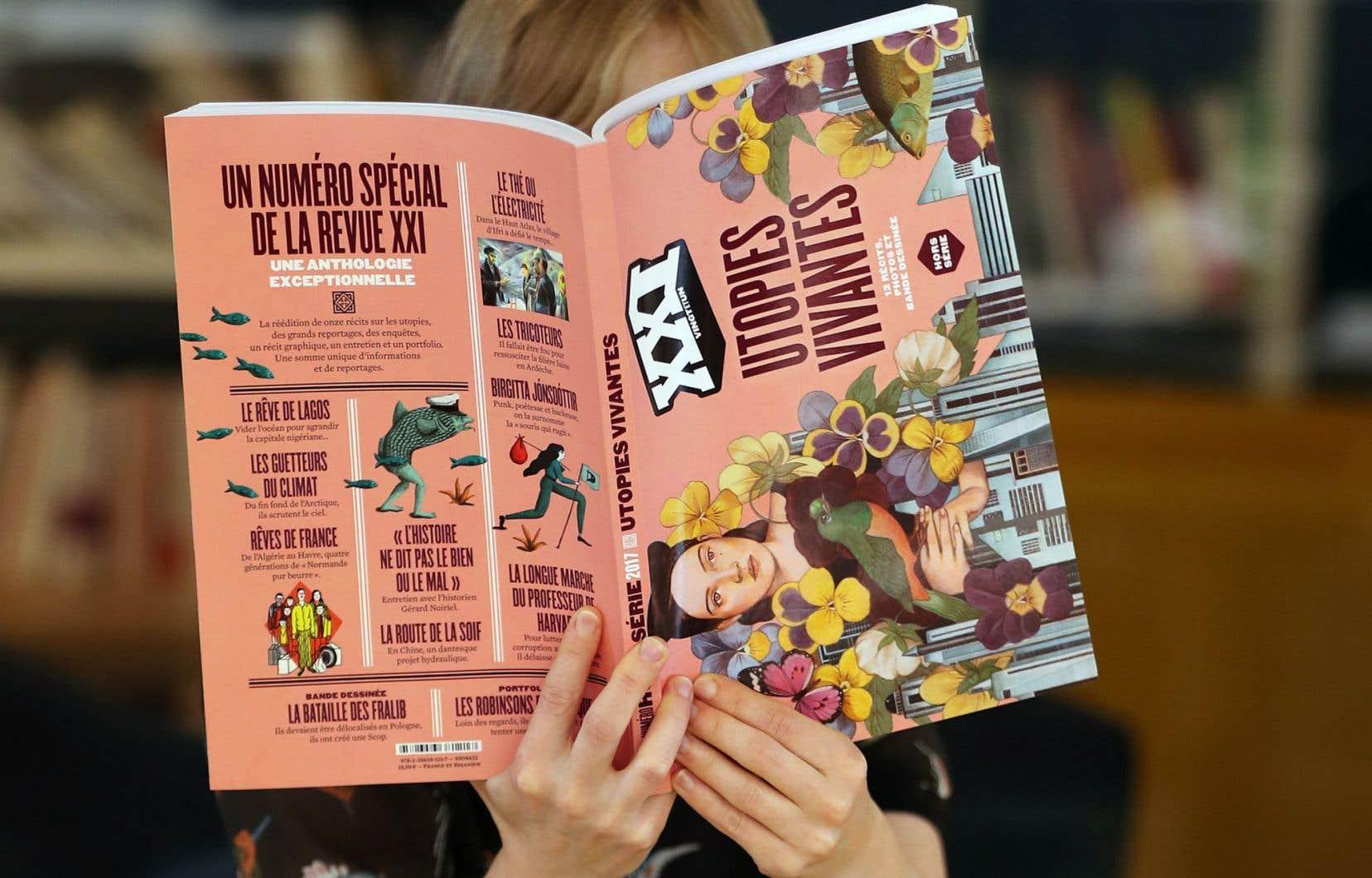 Le magazine «XXI» est un trimestriel.