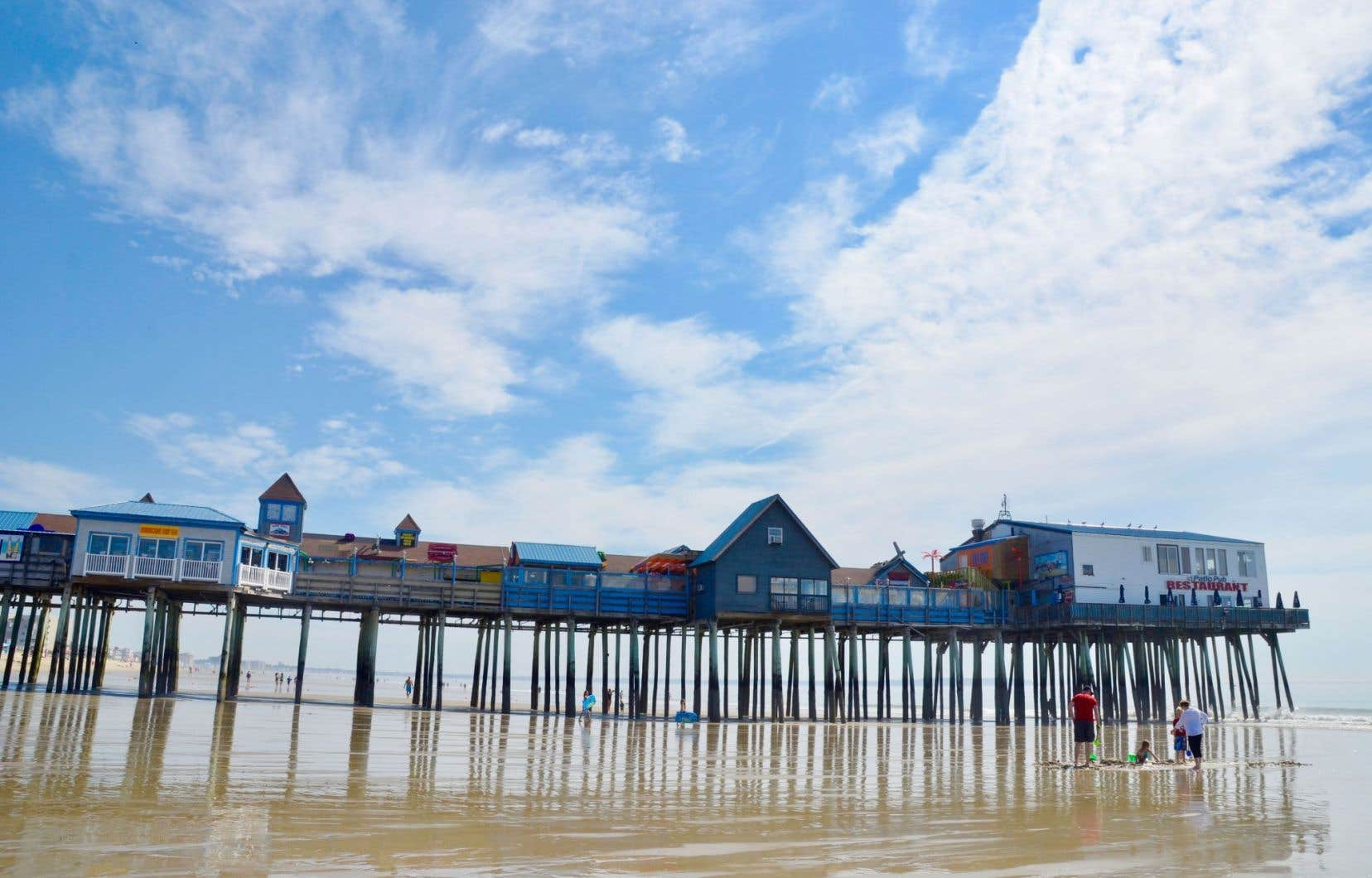 Plages Temporelles D Old Orchard Beach