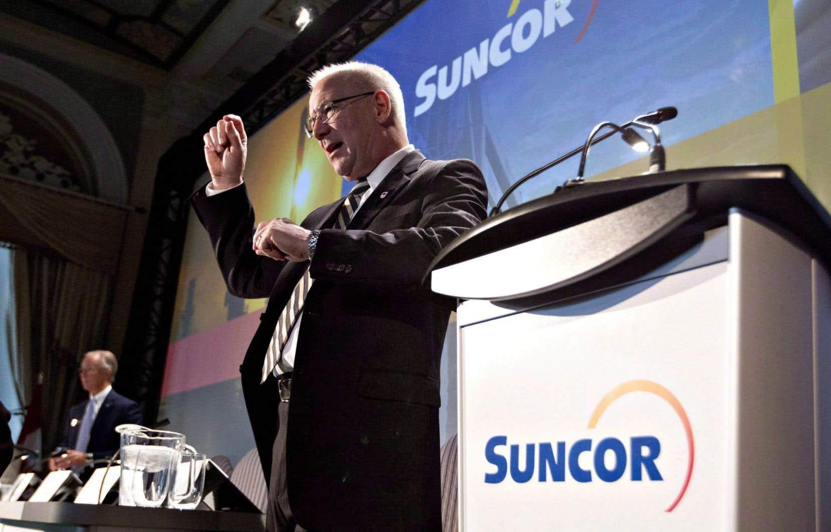 Le chef de la direction de Suncor Énergie, Steve Williams
