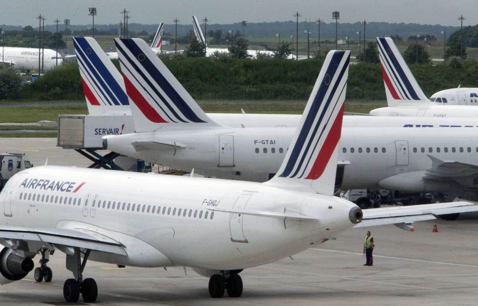 Le nouvel accord permet à Air France et à ses partenaires de s'adjuger 27% des capacités du marché nord-atlantique devant les partenariats rivaux.