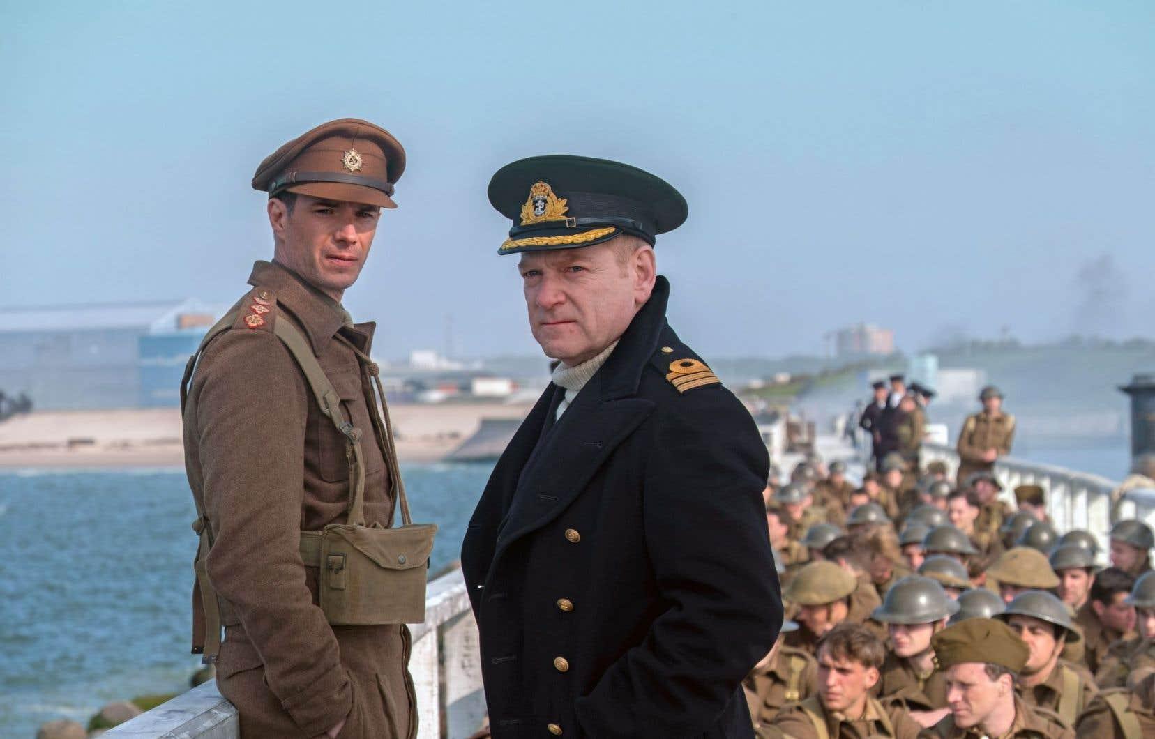 Le commandant James Campbell Clouston a inspiré le personnage du commandant Bolton (au centre), incarné par Kenneth Branagh dans le film «Dunkerque» de Christopher Nolan.