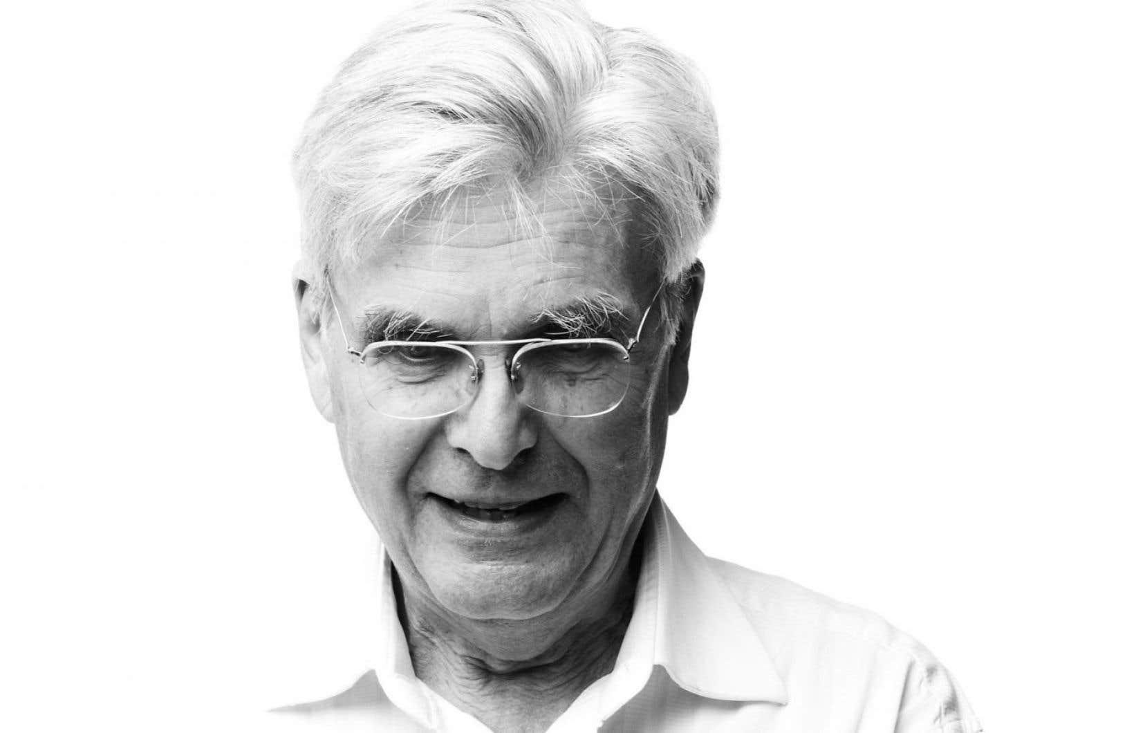 Le compositeur Gilles Tremblay