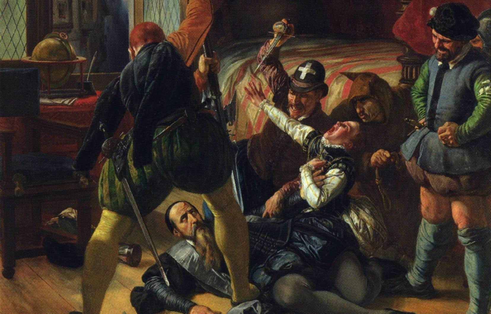 <p>«Scène de la Saint-Barthélemy», Joseph-Nicolas Robert-Fleury, 1833.</p>