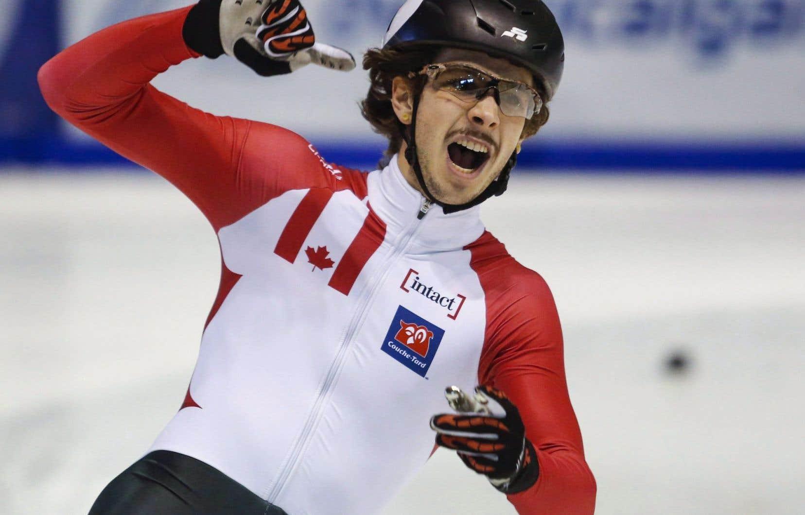Le patineur Samuel Girardconnaît une progression fulgurante depuis son arrivée au sein du programme senior masculin, en 2014-2015.