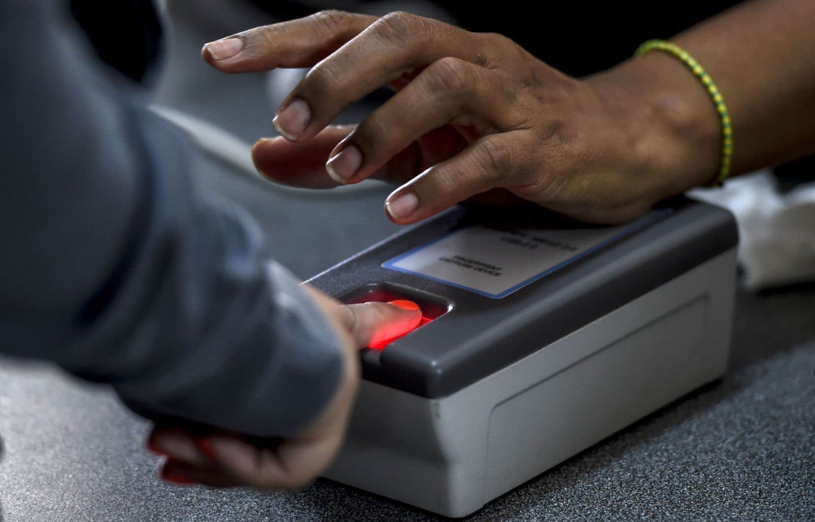Toute personne qui souhaitera avoir accès aux équipements techniques de l'ONF devra désormais fournir ses empreintes digitales.