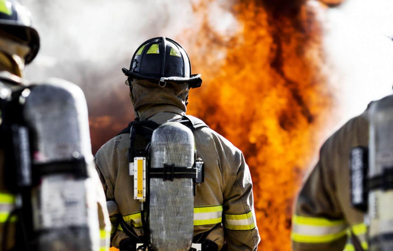 André Perry affirme ne pas être surpris que l'édifice ait été la proie des flammes.