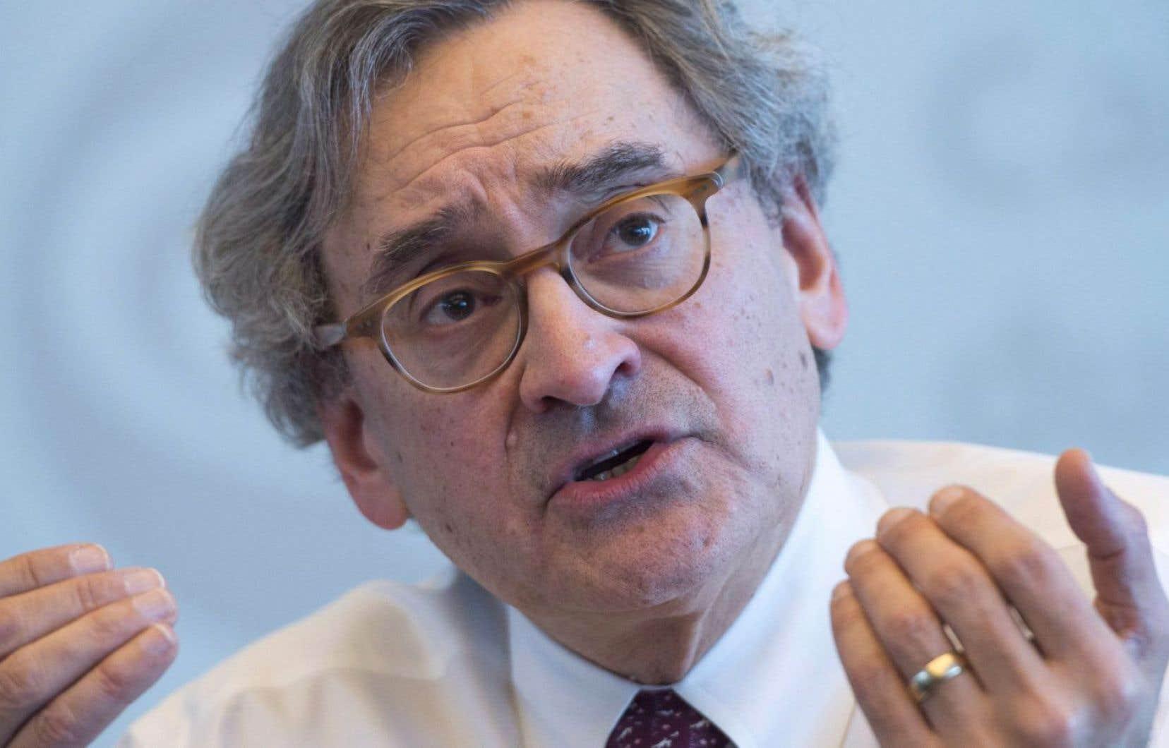 Le président et chef de la direction de la Caisse de dépôt et placement du Québec, Michael Sabia