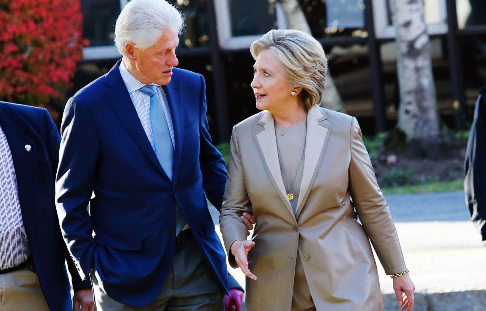 Les Clinton ont choisi les Cantons-de-l'Est et le Manoir Hovey pour passer leurs vacances.