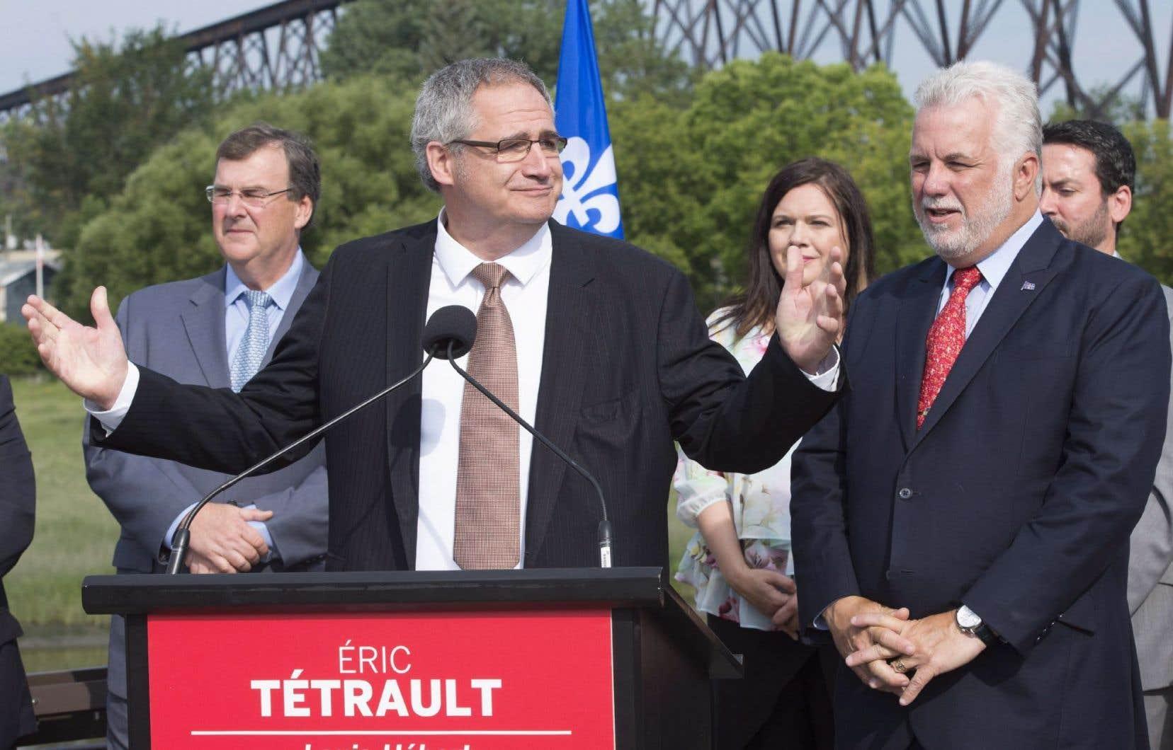 Éric Tétrault sera le candidat du PLQ lors de la prochaine élection partielle dans la circonscription de Louis-Hébert.