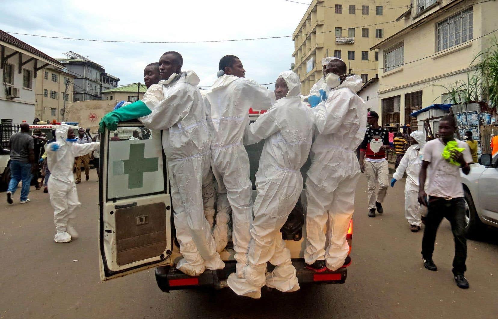 L'identification des victimes par les employés de la morgue est difficile.