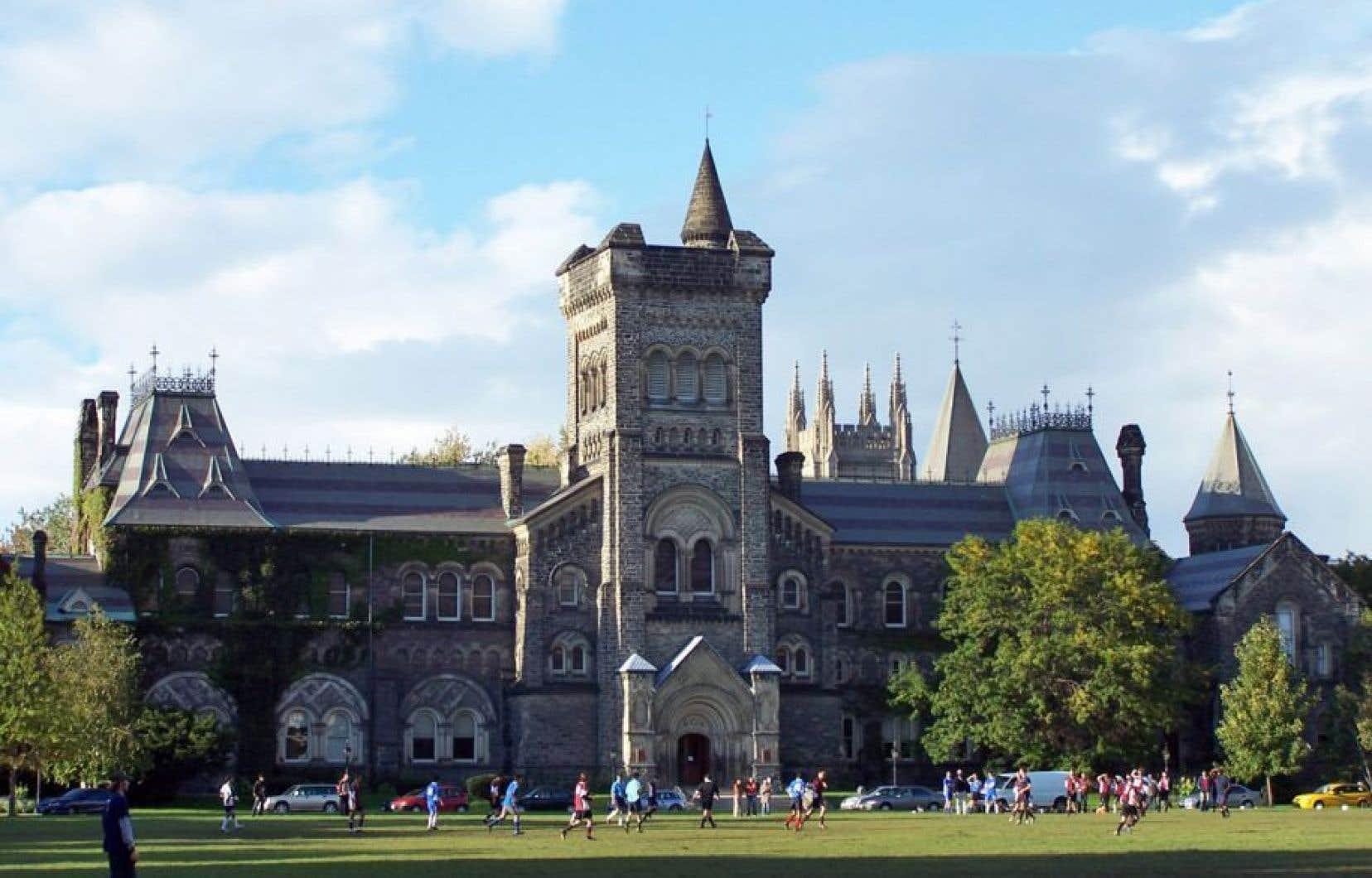 Le campus de l'Université de Toronto