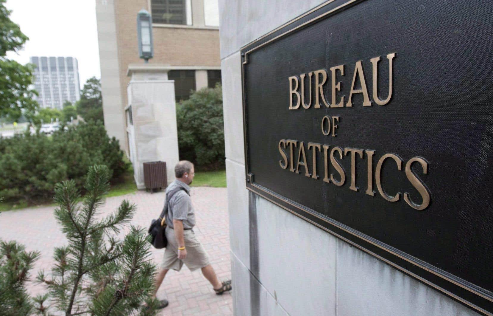 Les bureaux de Statistique Canada, à Ottawa