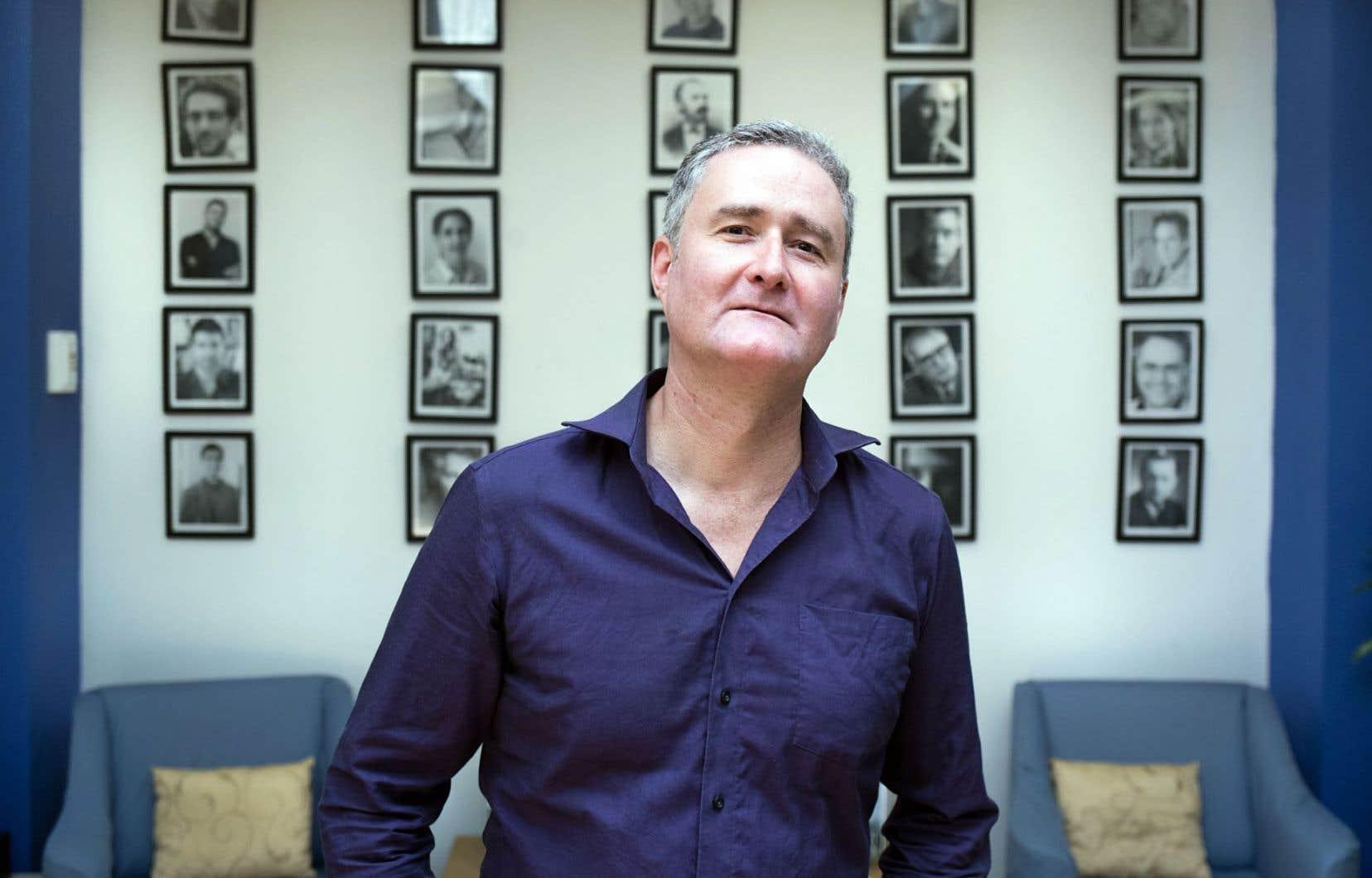 Simon Bertrand estime qu'il faut «développer l'éclectisme et la débrouillardise chez les jeunes compositeurs».