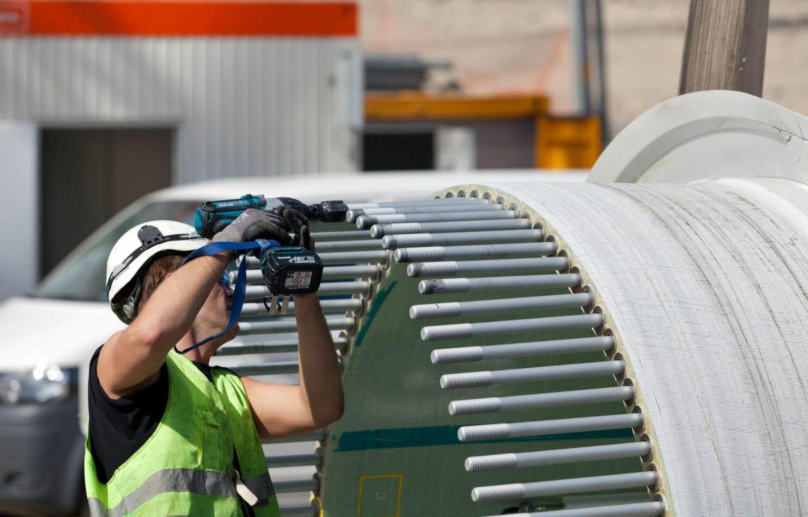 La filière éolienne s'est développée grâce à quatre appels d'offres lancés entre 2003 et 2013.