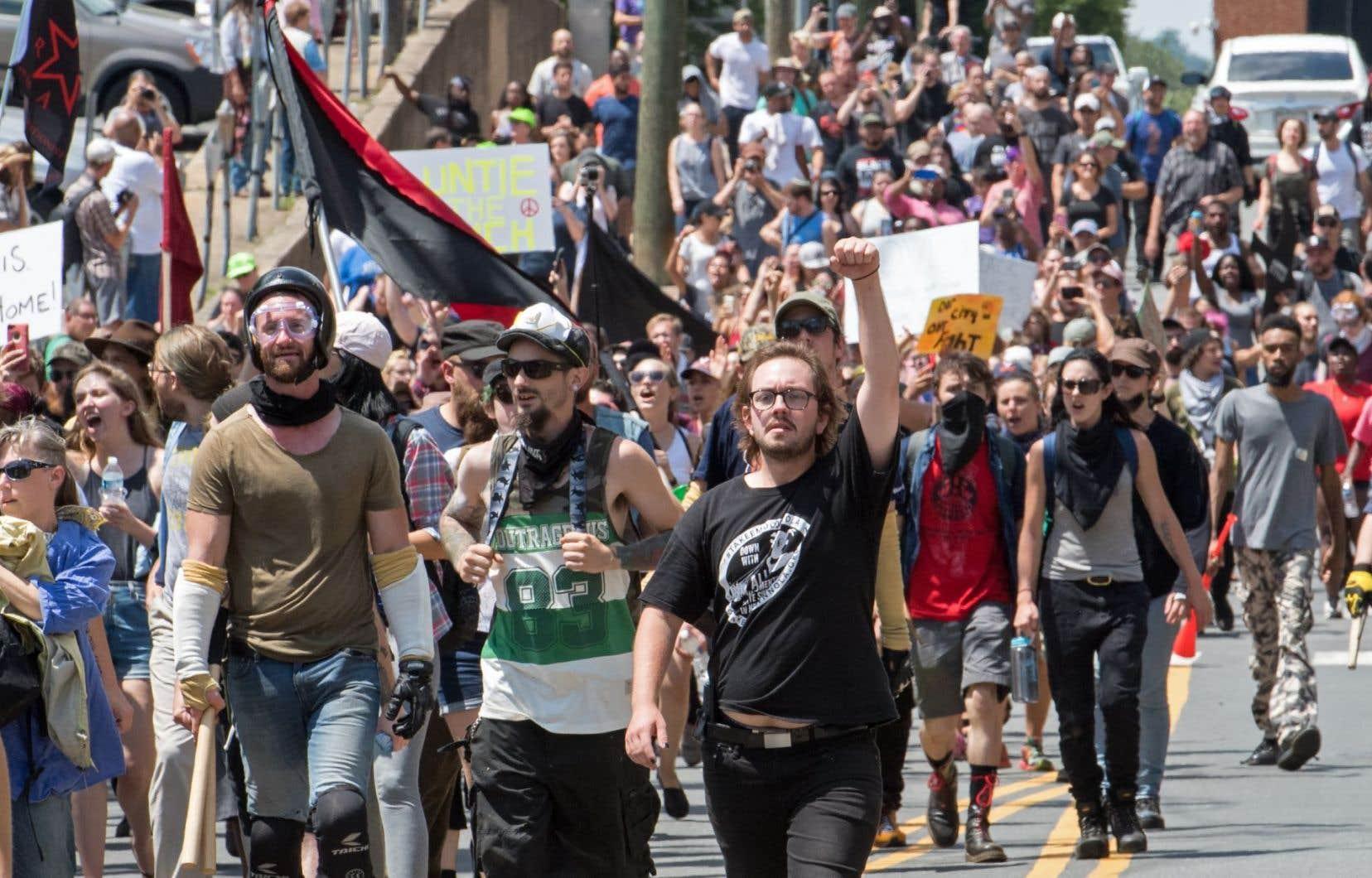 Des sites aux contenus racistes ont été fermés à la suite des violences de Charlottesville.