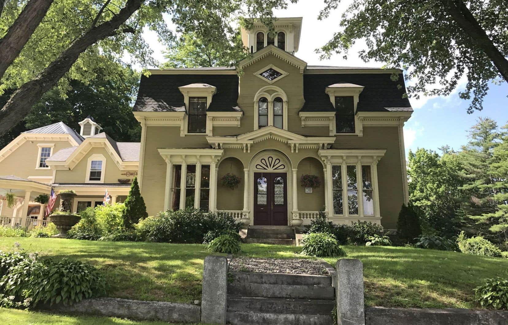 Cette demeure d'antiquaire de Bridgton pourrait avoir servi d'inspiration à la maison hantée décrite dans «Jerusalem's Lot», et à la Marsten House, dans «Salem's Lot».