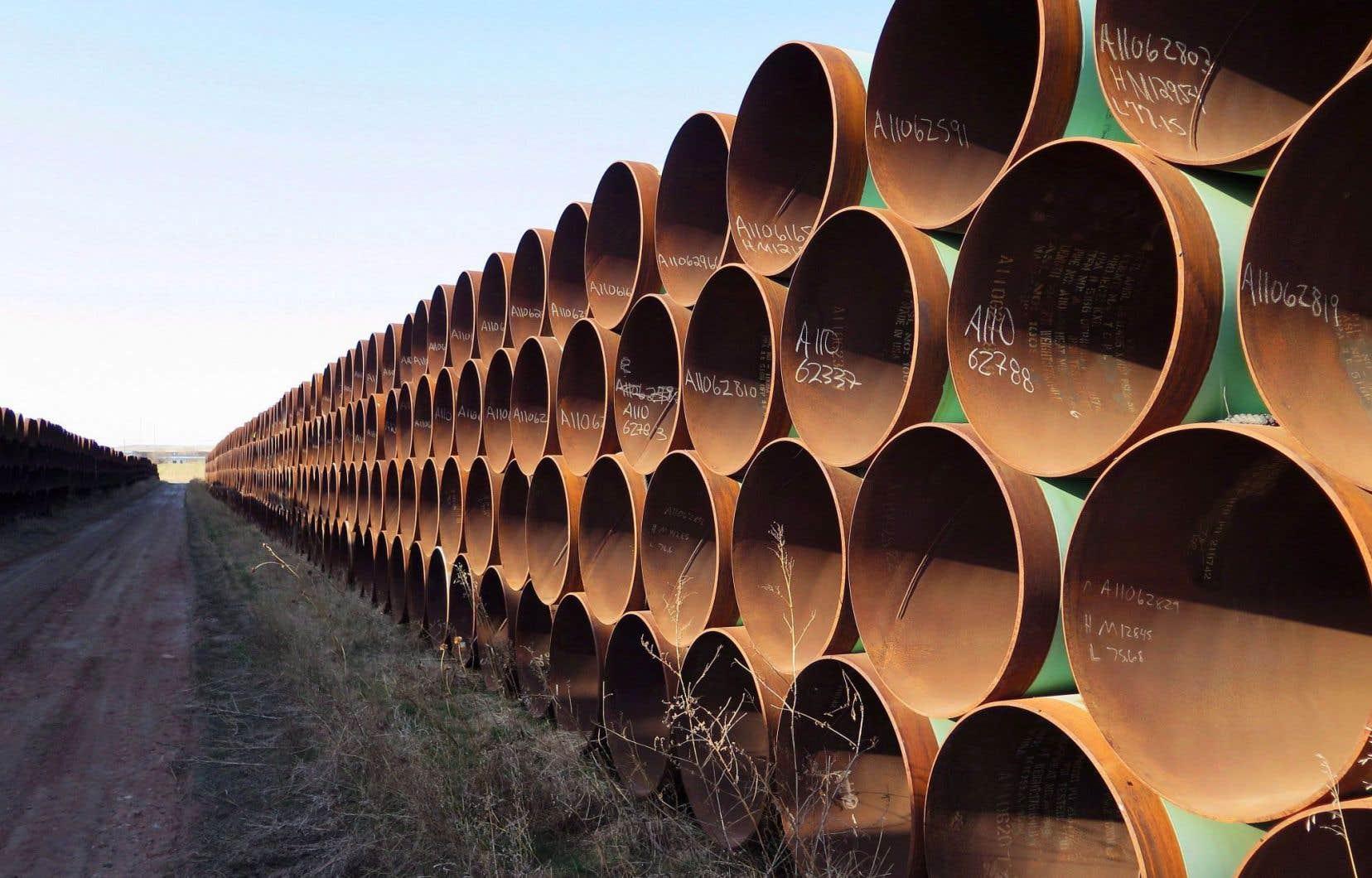 Le pipeline transporterait chaque année 400 millions de tonnes de pétrole.