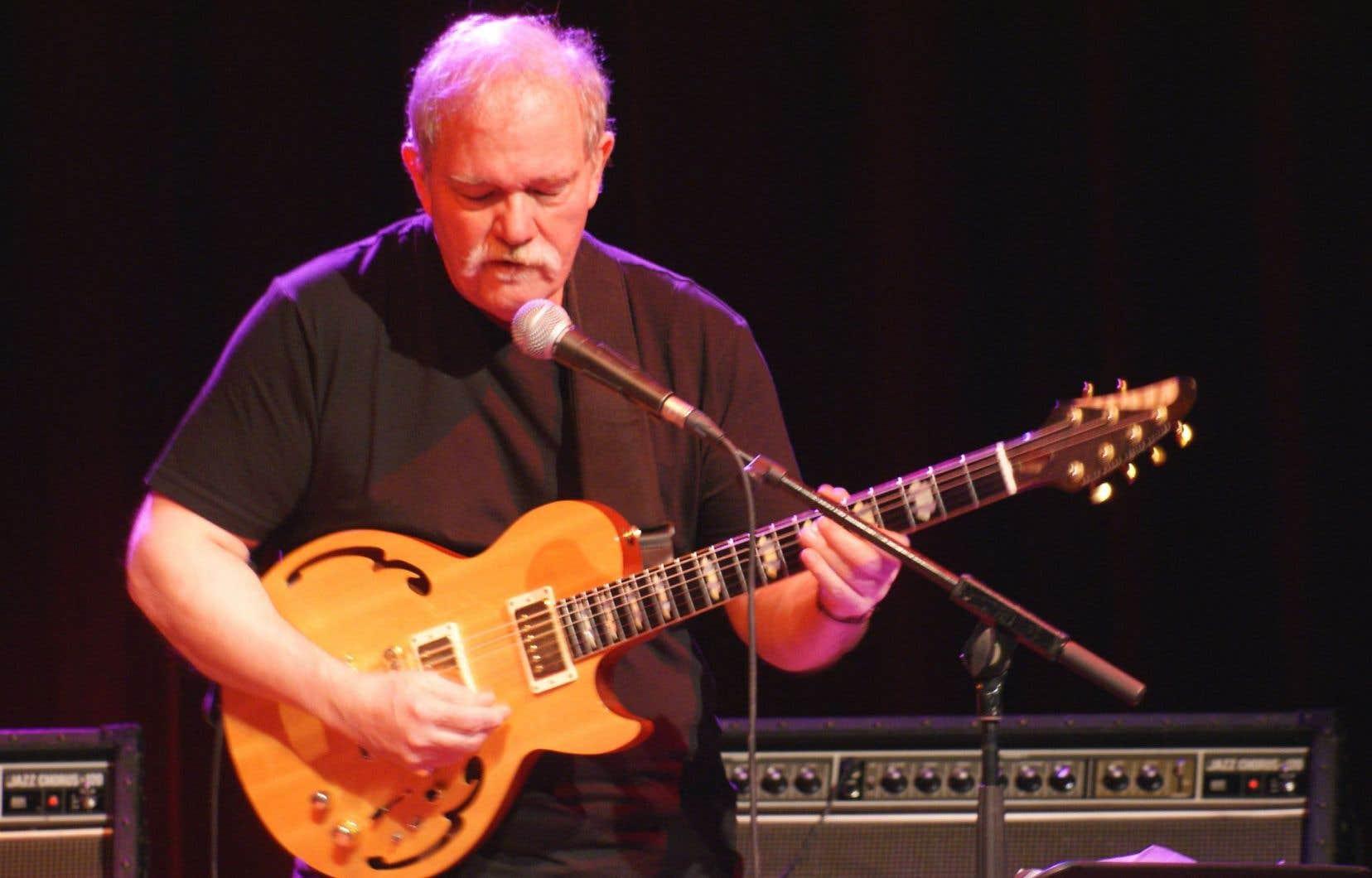 John Abercrombie à Nice en 2008