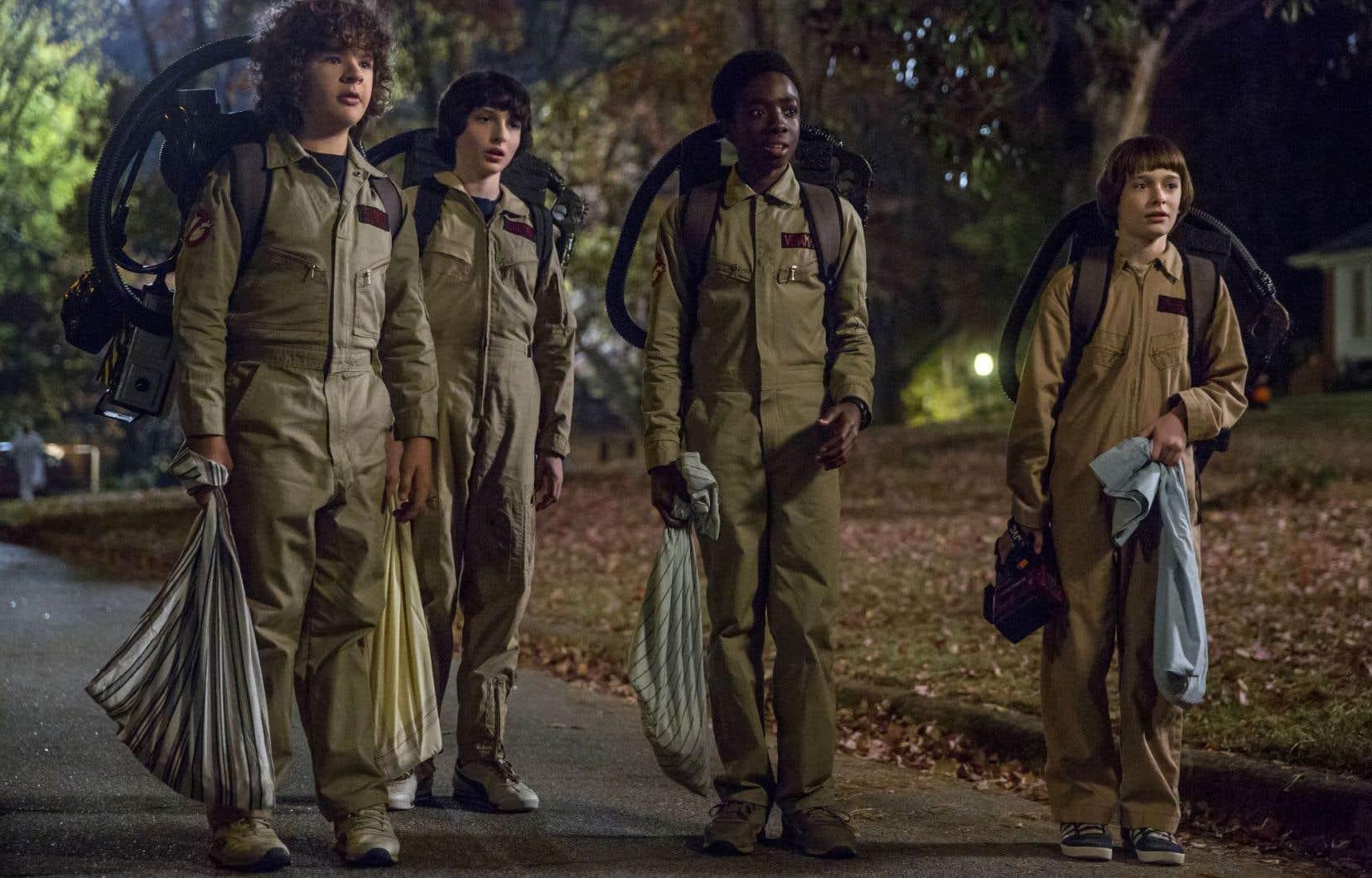 Le populaire service de diffusion Netflix lancera le 27 octobre la deuxième saison de la série «Stranger Things».