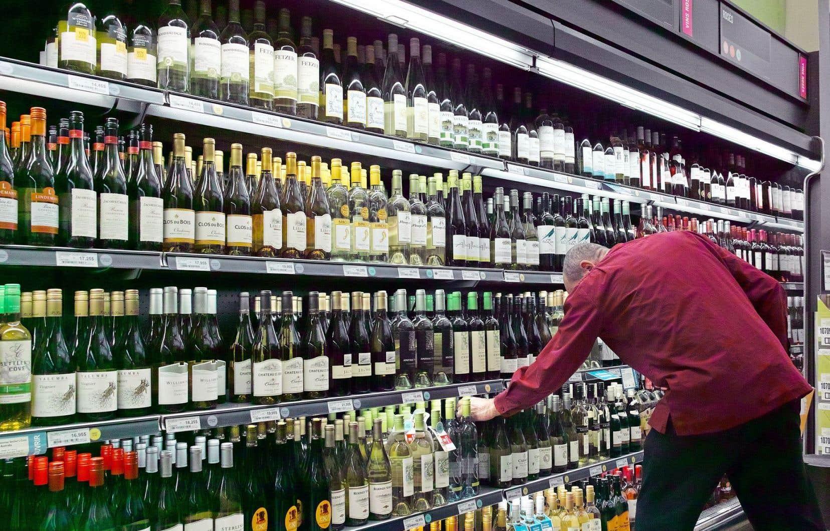 Les ventes de vins ont été de 516,7millions, en hausse de 300000$.