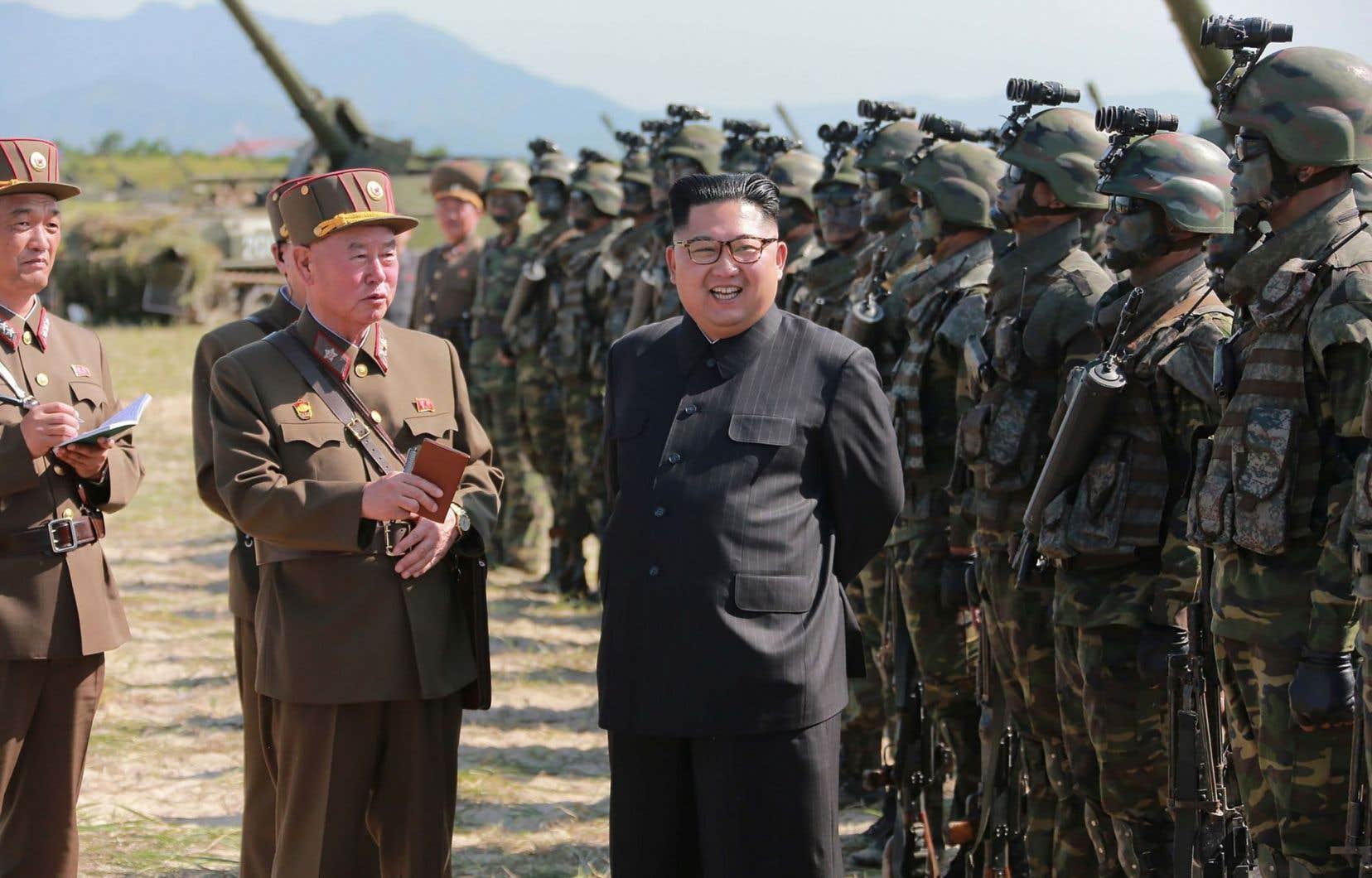 La Corée du Nord a testé trois missiles selon les États-Unis
