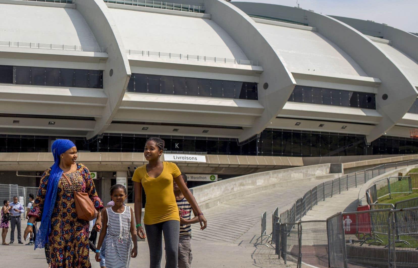Le Stade olympique a relogé ailleurs ses 86 derniers pensionnaires mardi.