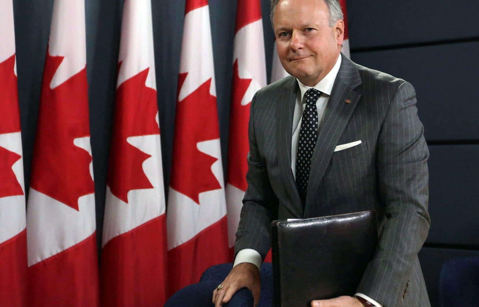 Stephen Poloz, le gouverneur de la Banque du Canada