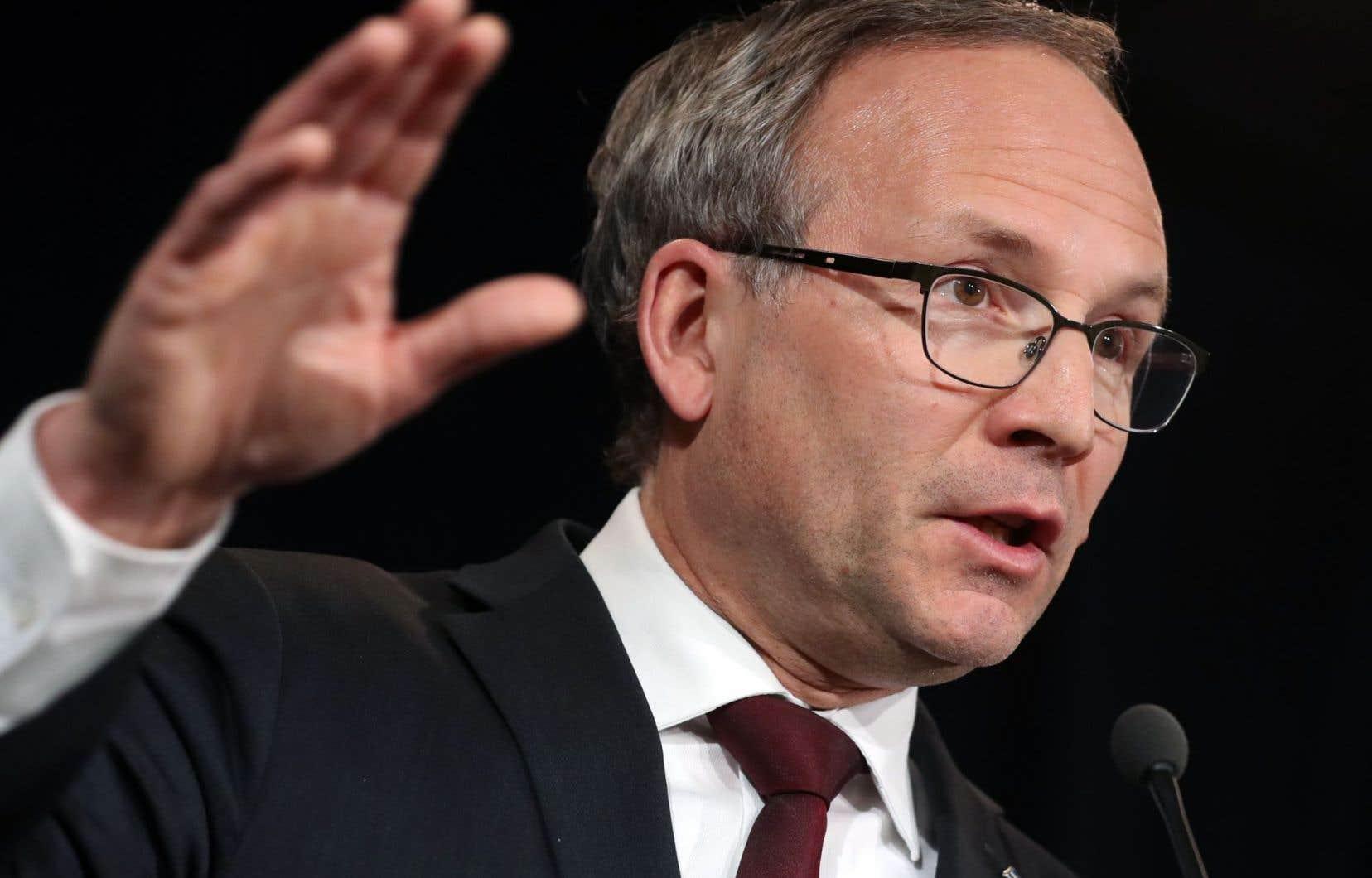 Le ministre de la Sécurité publique Martin Coiteux