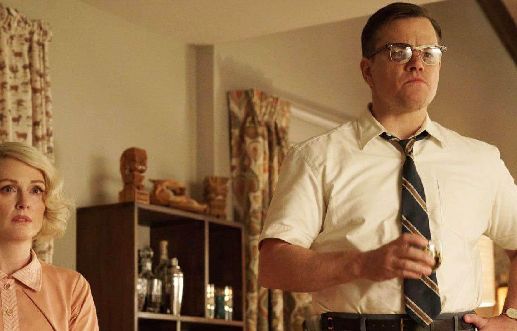Un des incontournables : Suburbicon, le film de George Clooney sur un scénario des frères Coen. Julianne Moore et Matt Damon y tiennent l'affiche.