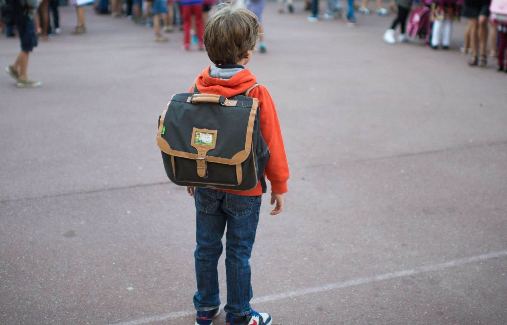 «L'arrivée au secondaire sera l'occasion d'un grand tri entre les élèves, entre ceux qui nepeuvent paset ceux quipeuvent», raconte l'auteure.