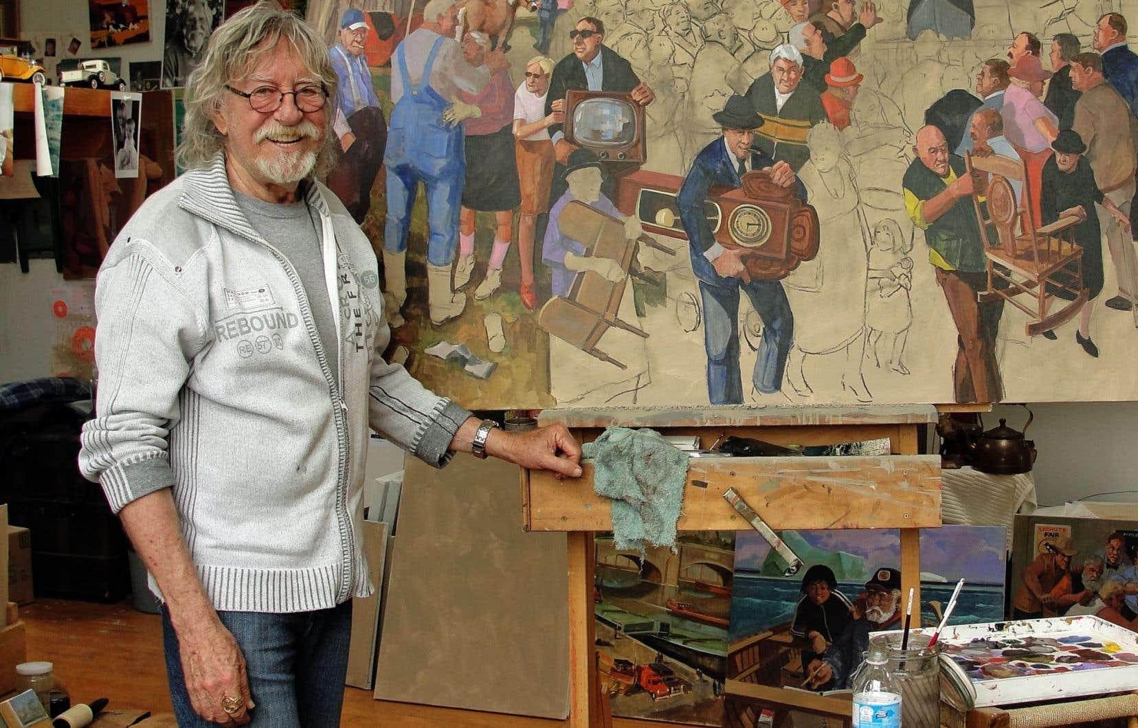 Toute sa vie, Tex Lecor aura d'abord et avant tout été peintre. Il a notamment été l'un des instigateurs de l'Institut des arts figuratifs.