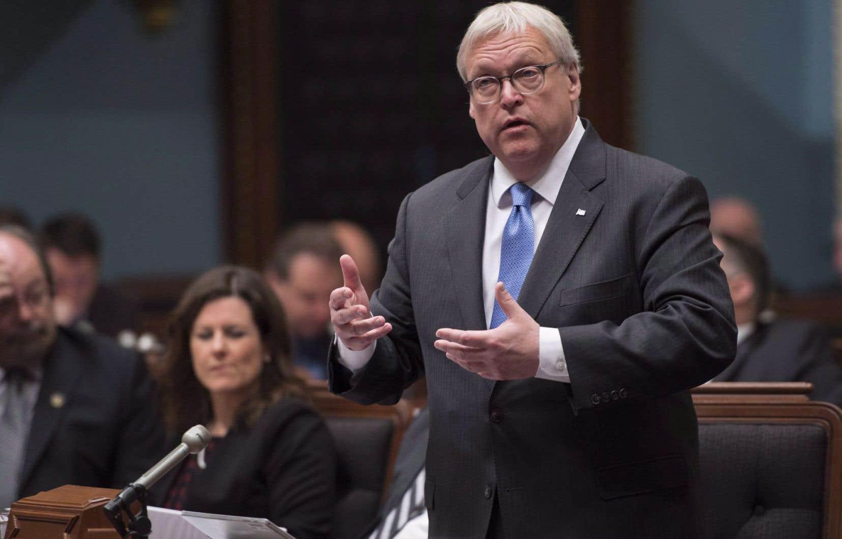 <em>«On se prépare à cette situation qui n'est pas encore au niveau de crise, mais qui est préoccupante»</em>, a souligné le ministre Barrette.