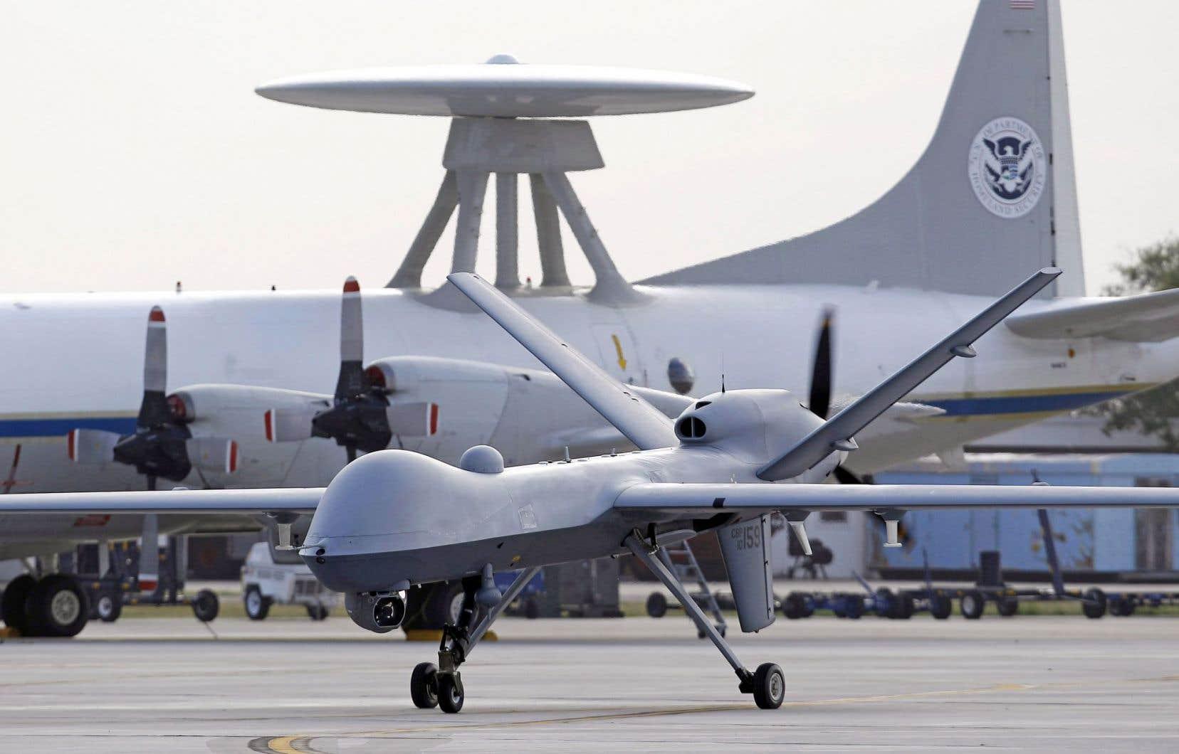 Engins sans présence humaine, les drones sont devenus l'arme secrète des troupes américaines.