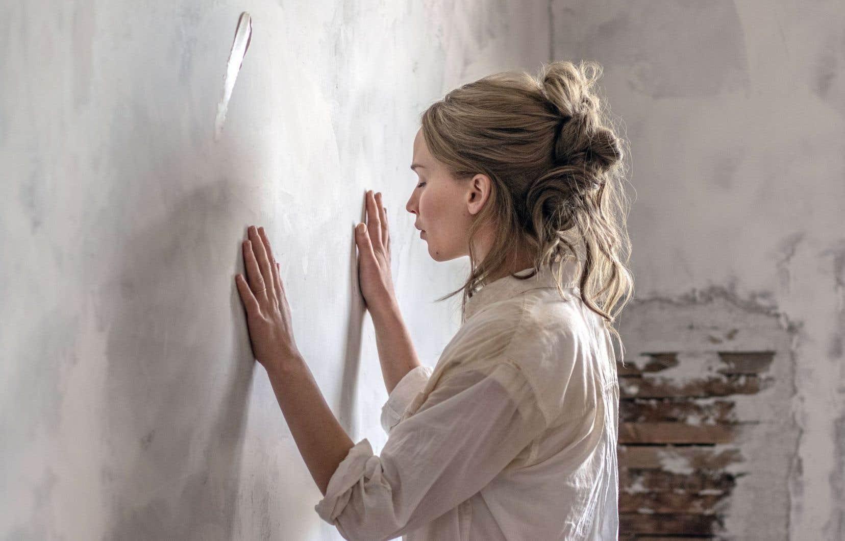 Jennifer Lawrence est de pratiquement chaque scène du film.