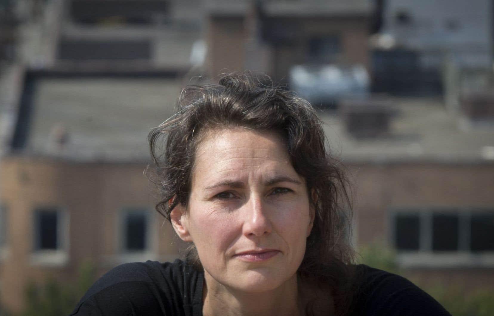La poétesse et journaliste au «Devoir» Catherine Lalonde
