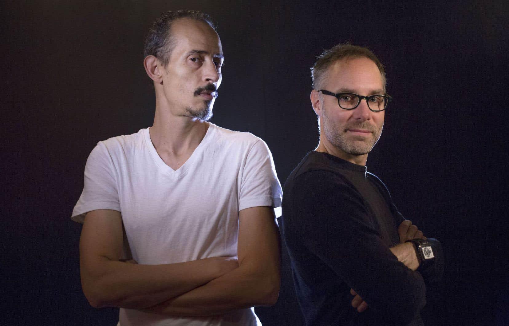 En audition, Sylvain Bélanger a été séduit par le jeu décomplexé et l'absence de formatage de Rabah Aït Ouyahia.