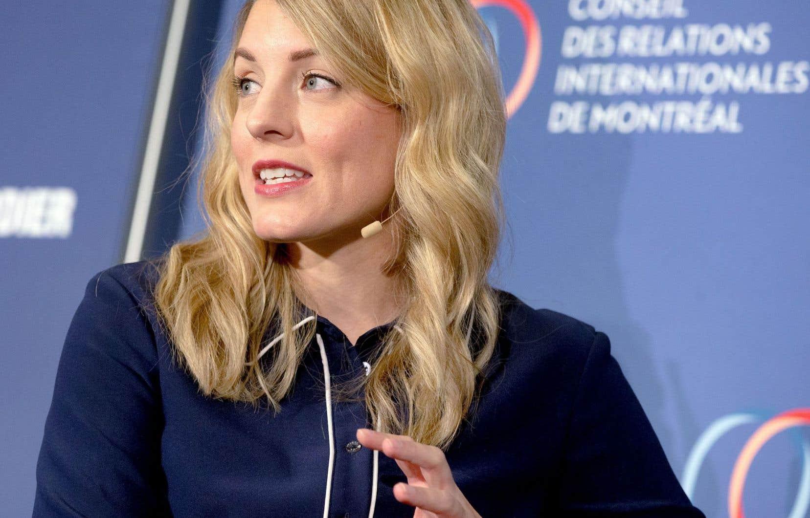 La ministre du Patrimoine canadien, Mélanie Joly, avait déjà précisé qu'il «n'y aura pas de taxe Netflix. Il n'y aura pas de taxe sur l'Internet.»