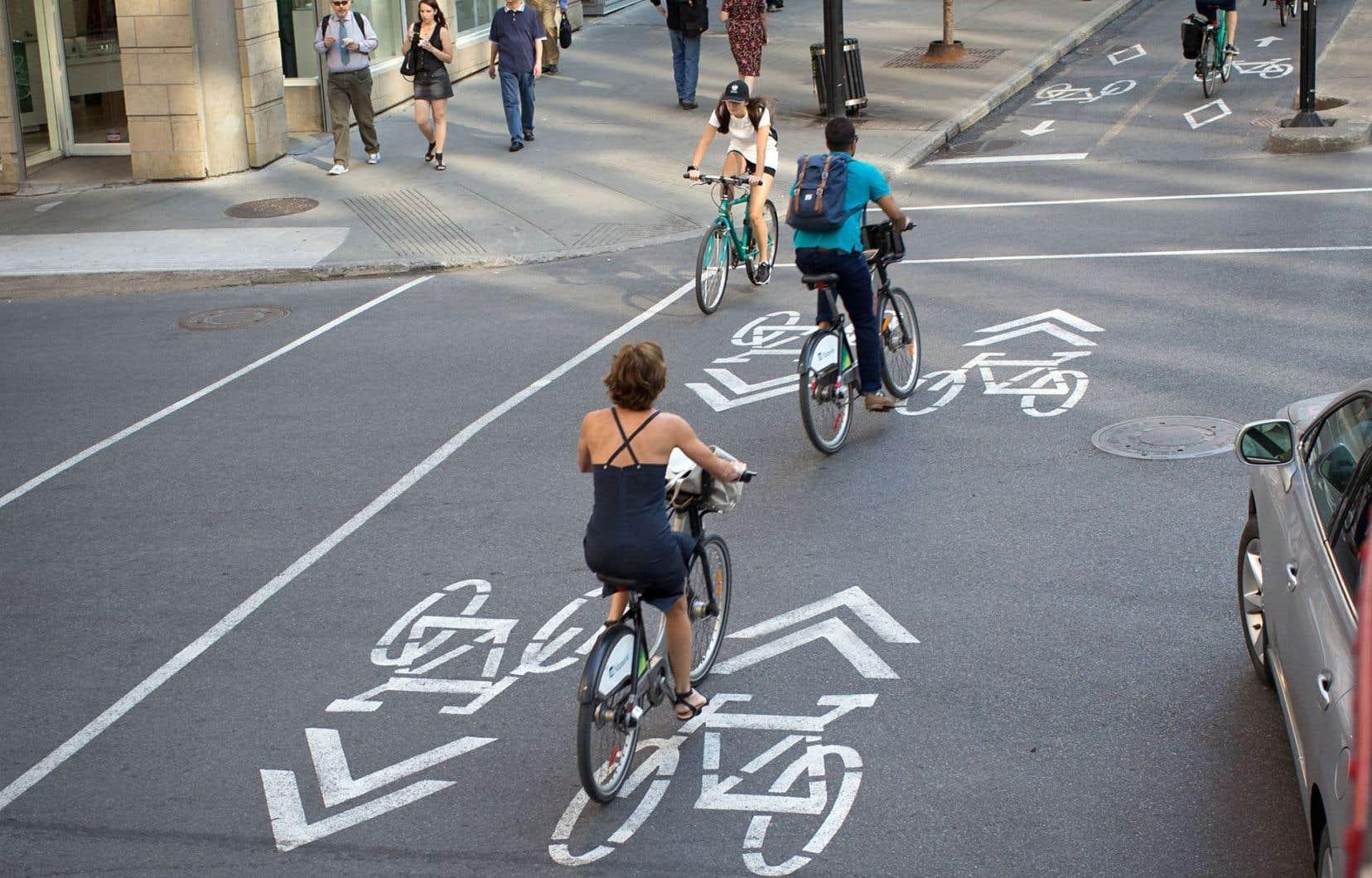La communauté cycliste de Montréal forme désormais un groupe que les candidats doivent écouter.